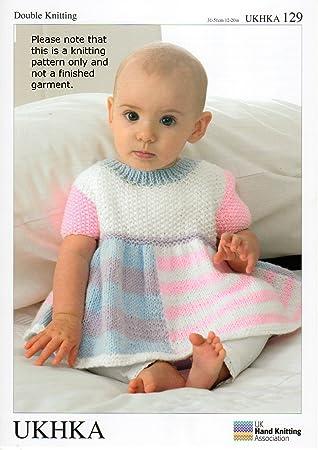 Baby Strickmuster, für Kleid und Strickjacke und passender Mütze ...