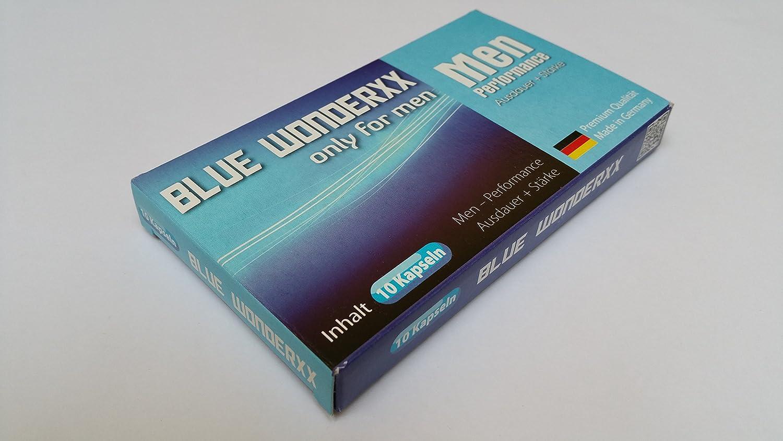 Blue Wonderxx - Alternativa a la viagra, natural, sin receta, 10 píldoras para potencia sexual masculina: Amazon.es: Salud y cuidado personal