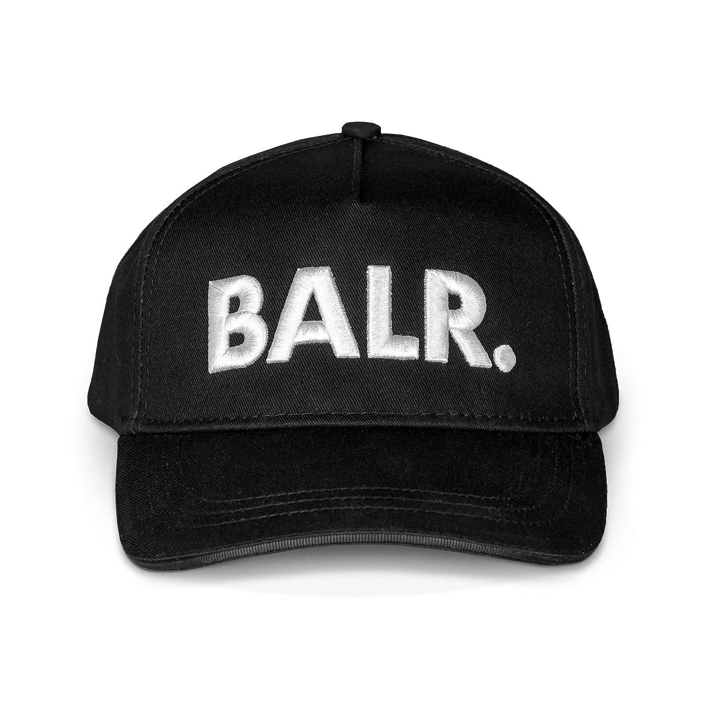 BALR. Classic Cotton Cap aus Baumwolle mit einzigartiger Lederlasche hinten und Metall-Pins für eine optimale Passform - Schwarz