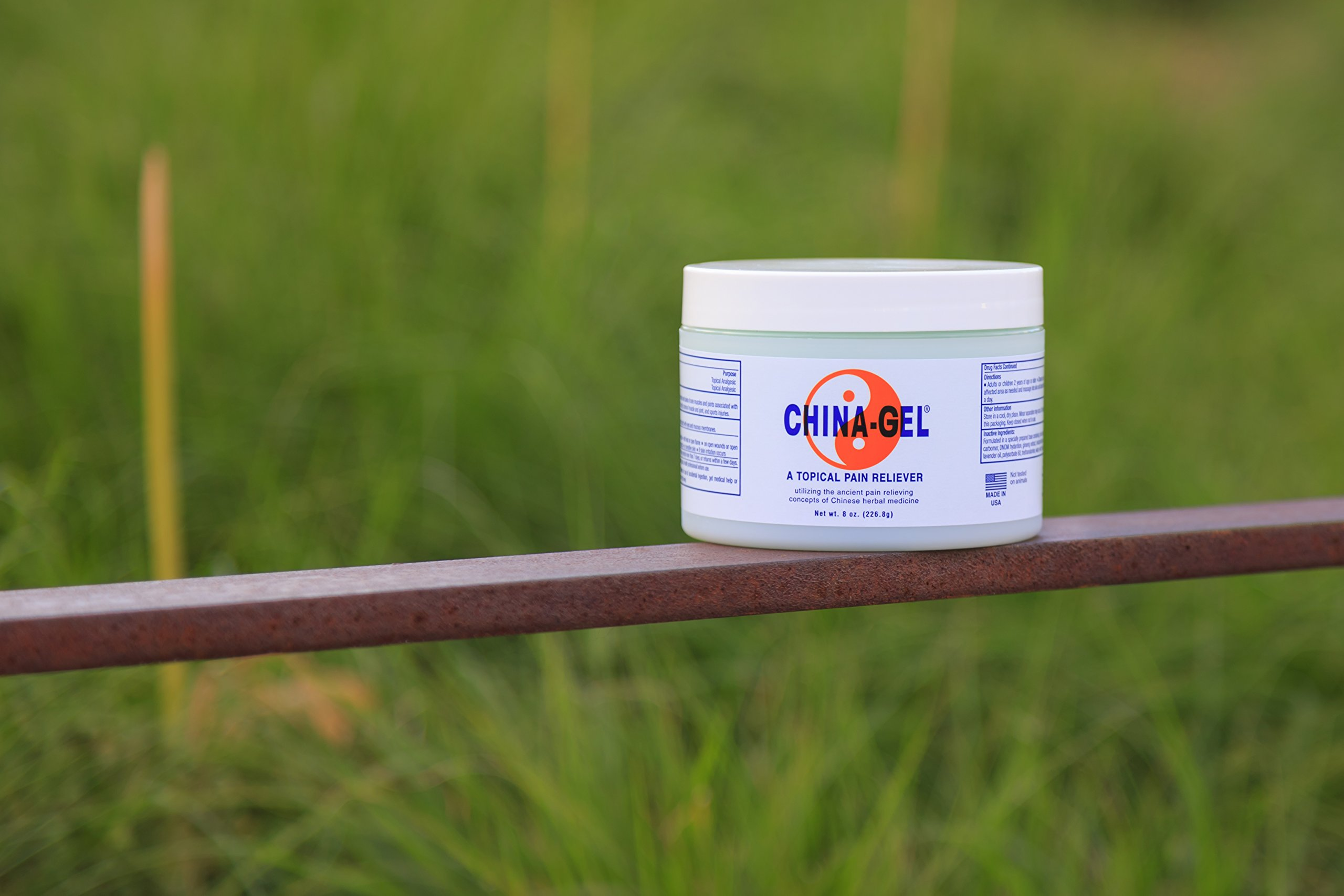 China-Gel - Topical Pain Reliever, 8 oz.