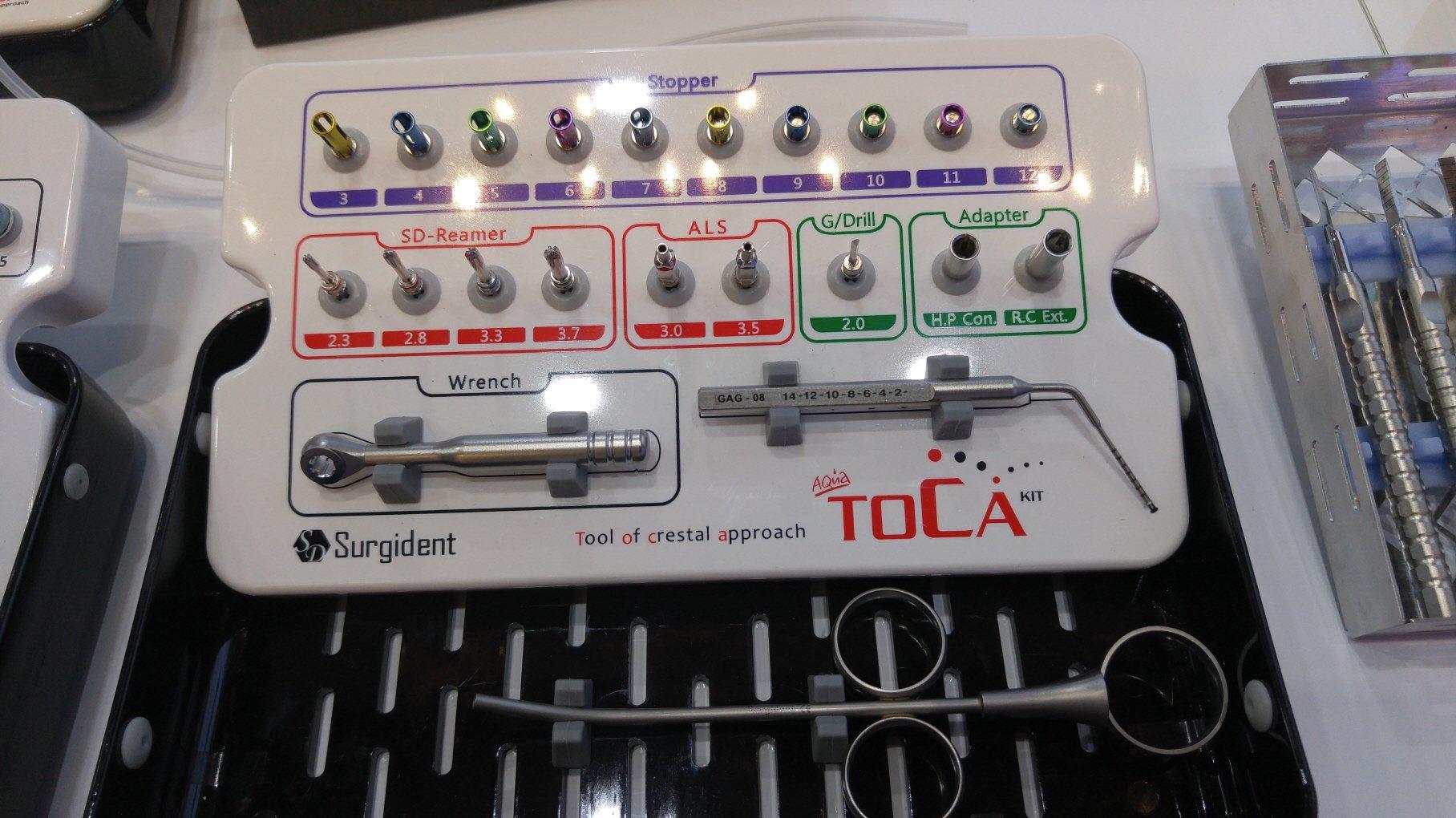 AQUA TOCA-KIT(AQUA Tool of crestal approach)