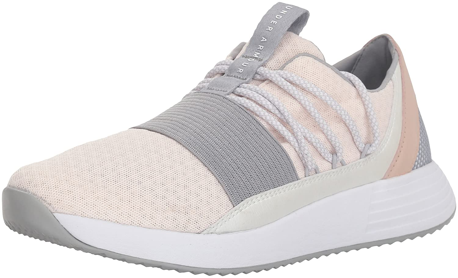 Under Armour B071S8CTY2 Women's Breathe Lace Sneaker B071S8CTY2 Armour 6.5 M US|French Gray (601)/Overcast Gray 226611