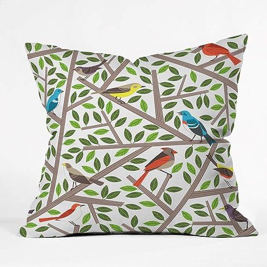 Suminla-Home Tweet Tweet - Funda de cojín Decorativa para el ...