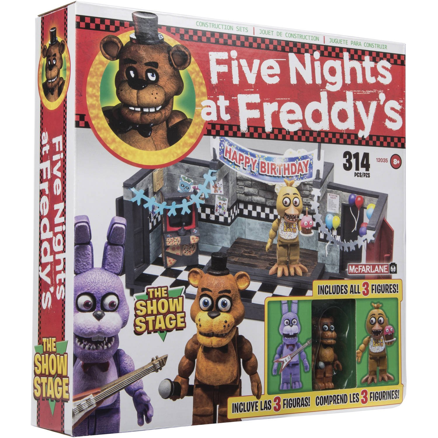 More five nights at freddy s construction sets coming soon - Five Nights At Freddy S The Show Stage