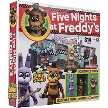 Five Nights at Freddys The Show Stage