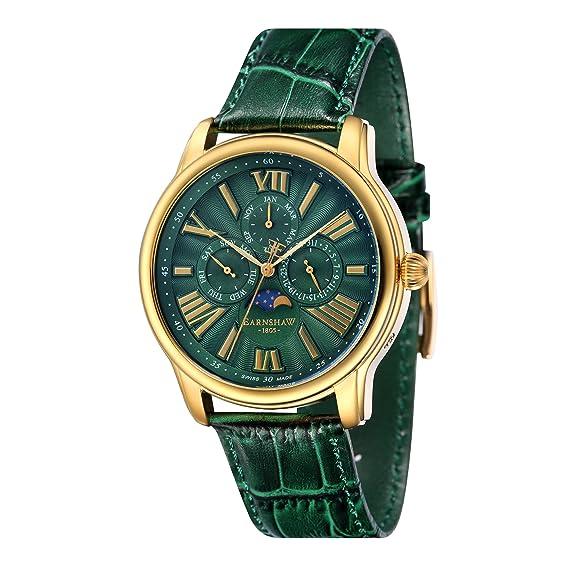 Thomas Earnshaw Reloj Analogico para Hombre de Cuarzo con Correa en Cuero ES-0025-05: Amazon.es: Relojes