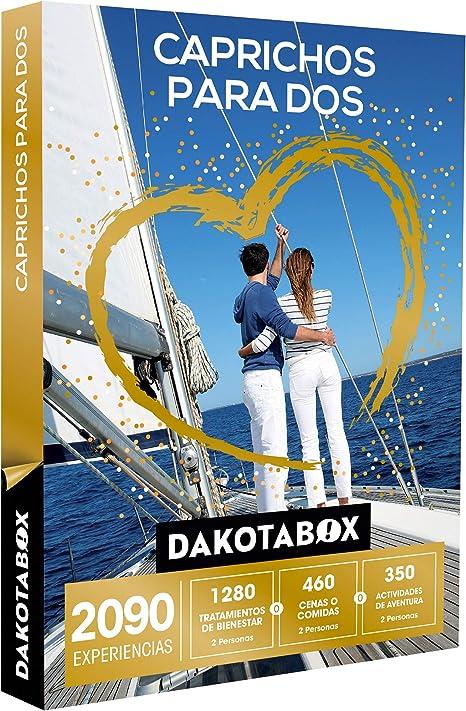 DAKOTABOX - Caja Regalo - CAPRICHOS para Dos - 2090 experiencias ...