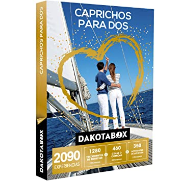 DAKOTABOX - Caja Regalo - CAPRICHOS PARA DOS - 2090 experiencias inolvidables para compartir: Amazon.es: Deportes y aire libre