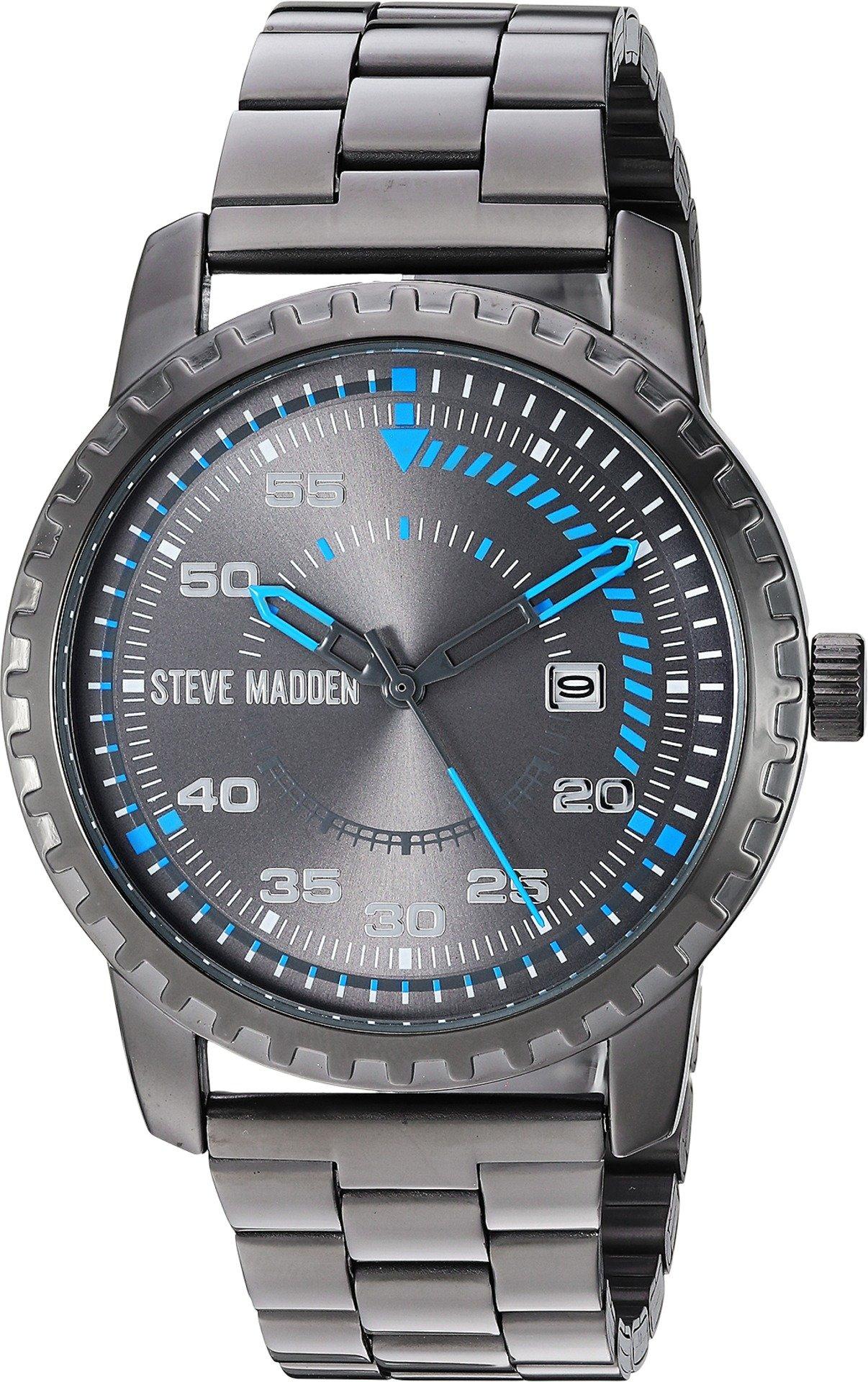Steve Madden Men's SMW143 Gunmetal One Size