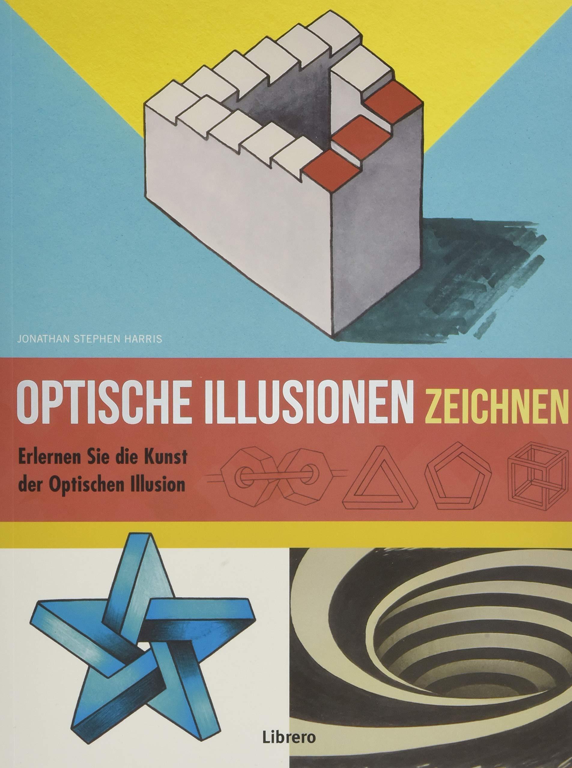 Optische Täuschungen Zeichnen Amazon De Jonathan Stephen Harris