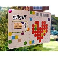 Giffgaff Carte SIM pour Suivi GPS Tracker Payg GPRS APN Multi Taille–illimité des appels, textes, données–Compatible avec Tous Les appareils–5£ de crédit Bonus avec Votre Premier Top Up de £10