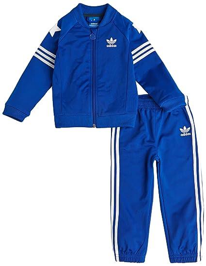 ADIDAS ORIGINALS INFANTS AMERICANA SUPERSTAR TRACK SUIT KIDS CHILDREN FULL  SUIT (3-6 Months)  Amazon.co.uk  Clothing 8bf2f80bd4