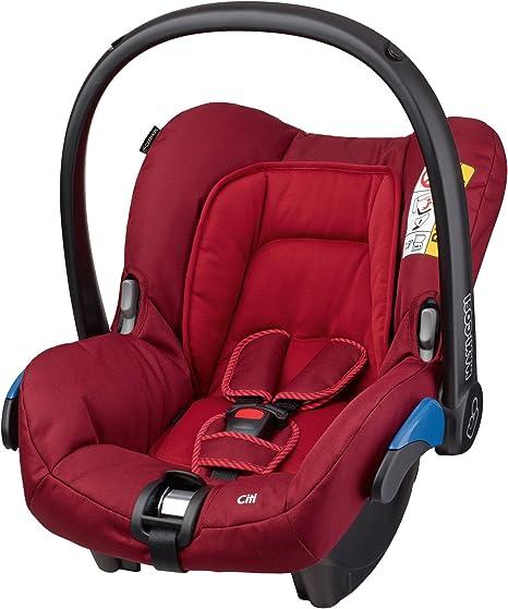 Maxi-Cosi Citi, Silla de coche grupo 0, rojo: Amazon.es: Bebé