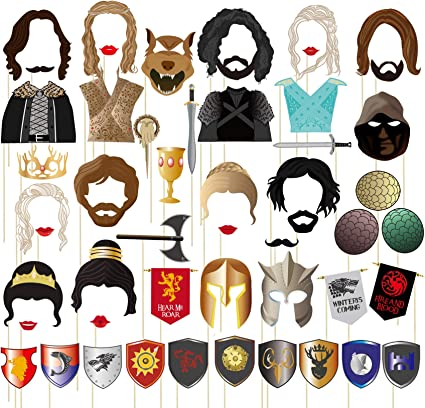 8 PARTY BEARDS COSTUME ACCESSORY MASK MOVEMBER MUSTACHE BEARD PHOTO BOOTH PROPS