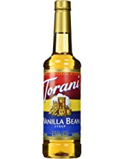 Torani Vanilla Bean Flavour Syrup 750 Milliliter