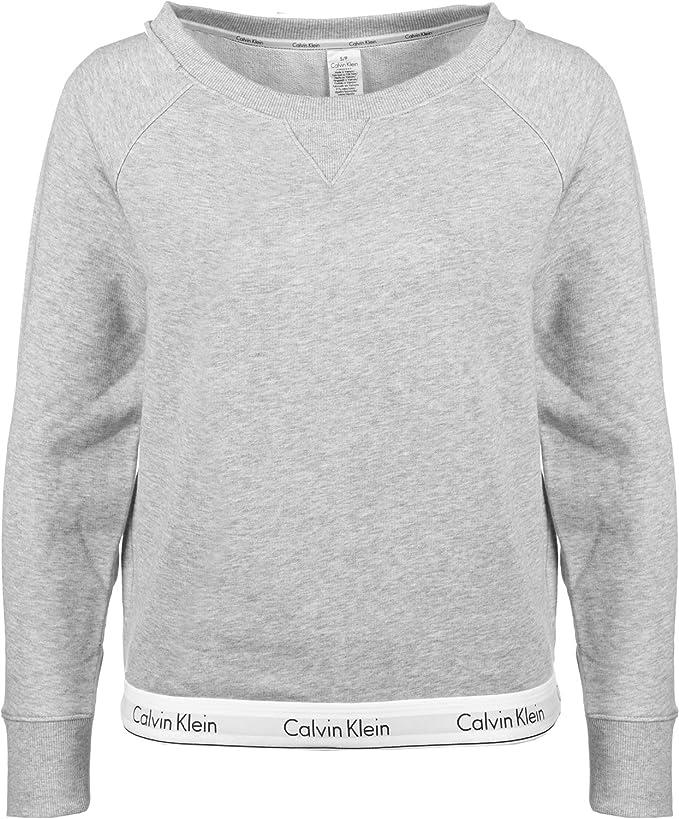 Calvin Klein 000QS5718E Top Sweatshirt Sudadera Mujer: Amazon.es: Ropa y accesorios