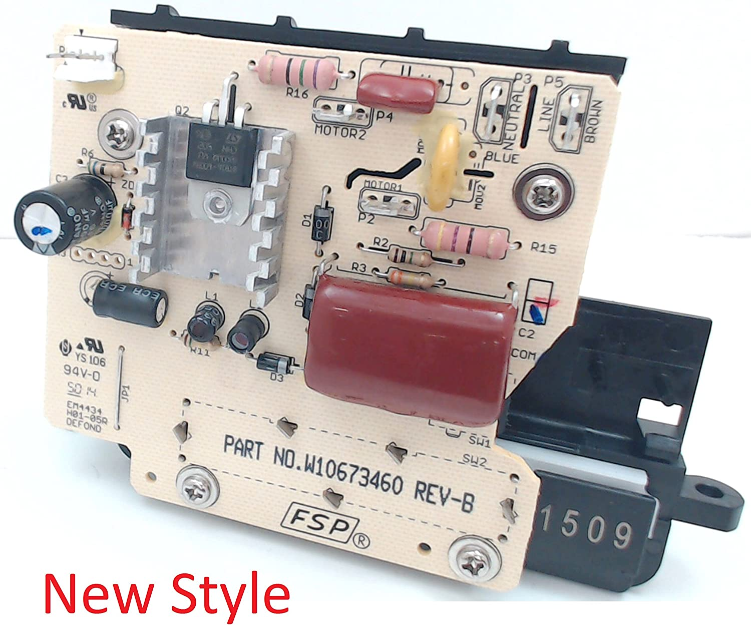 Kitchenaid 9706648 Replacement Speed Control Parts Microwave Panel Wiring Diagram For Kitchen Dining