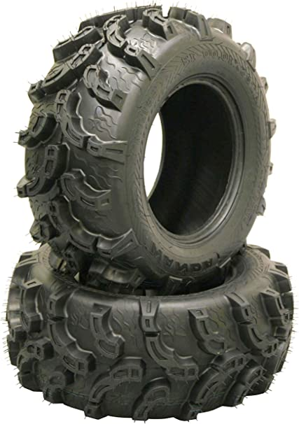 Set 2 ATV UTV Mud Tires 26x12-12 26x12x12 6PR