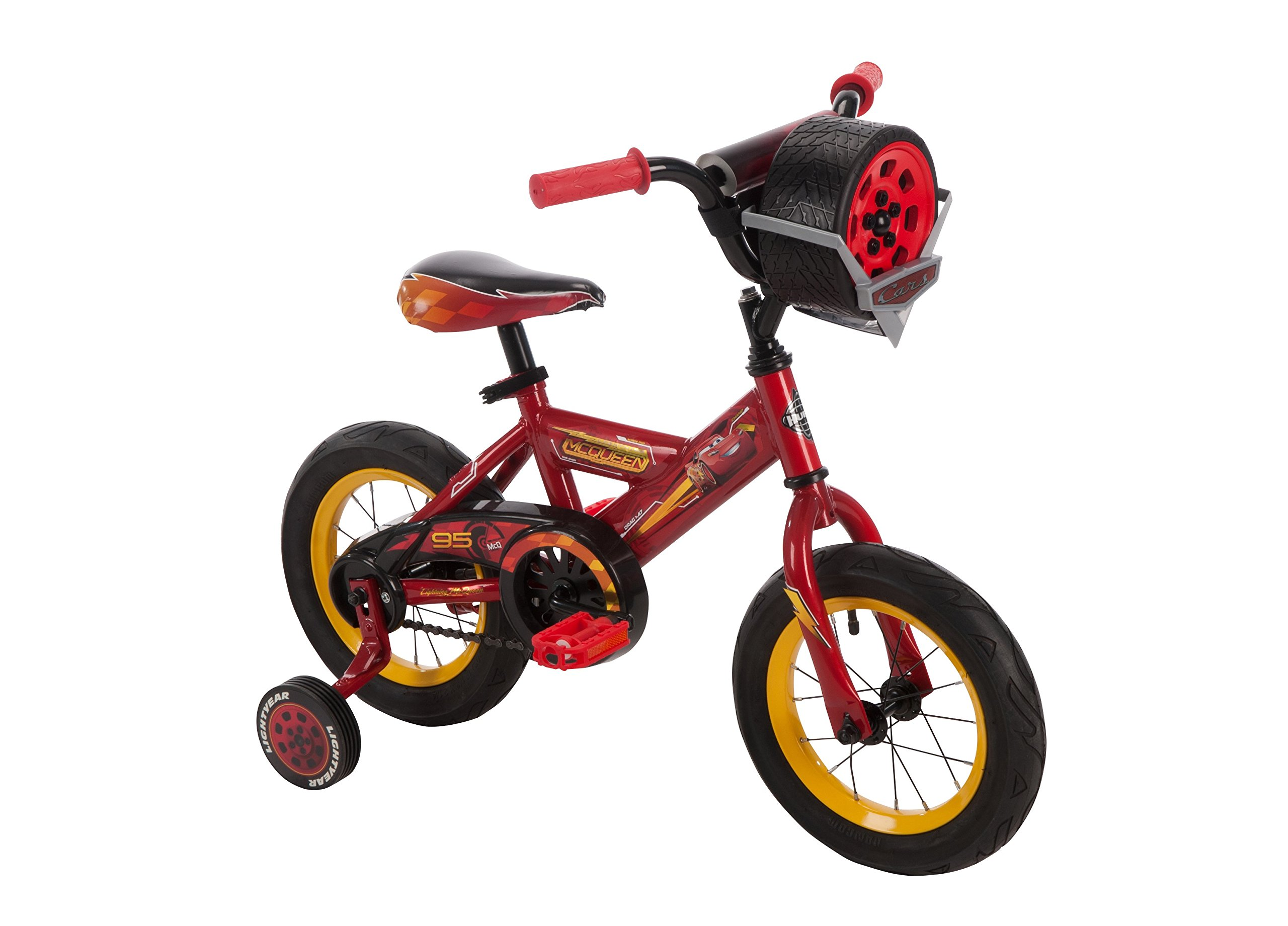 Huffy 12'' Disney•Pixar Cars 3 Bike by, Ages 3-5, Height 37-42