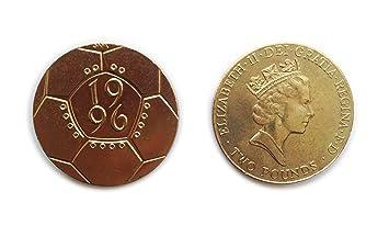 Münzen Für Sammler Ungebraucht Briten 1996 Fußball