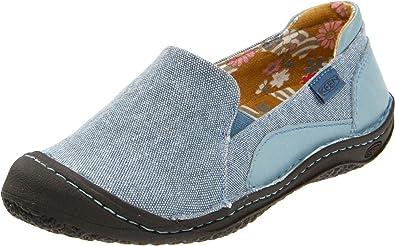 KEEN Women's Summer Golden Slip On Shoe,Bluestone,10.5 ...