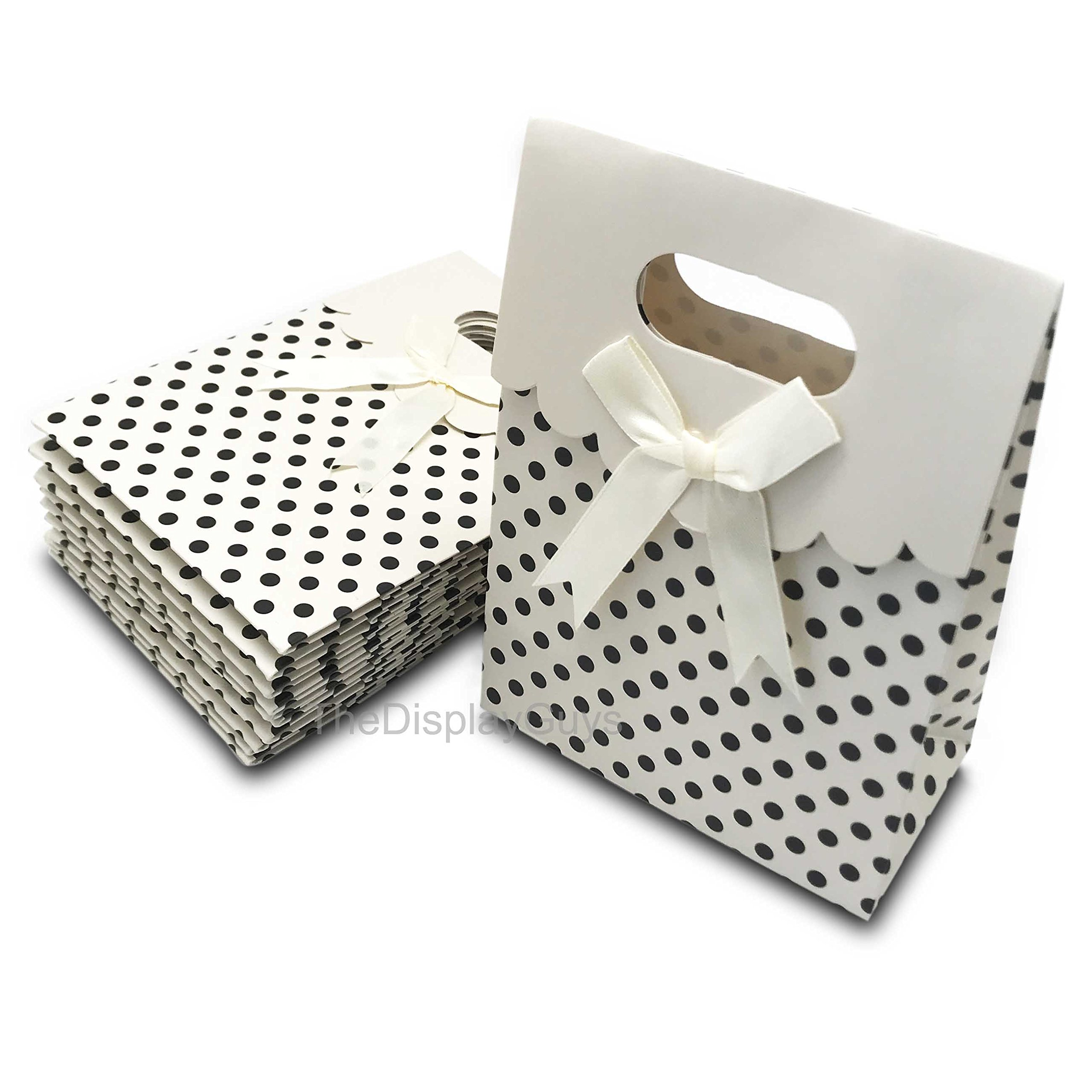 Amazon.com: The Display Guys 12 pcs Dozen Paper Gift Bags Box Tote ...