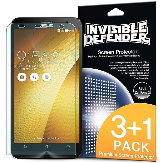 29 opinioni per ASUS ZenFone 2 (5.5 Inch) Pellicola Protettiva- Invisible Defender