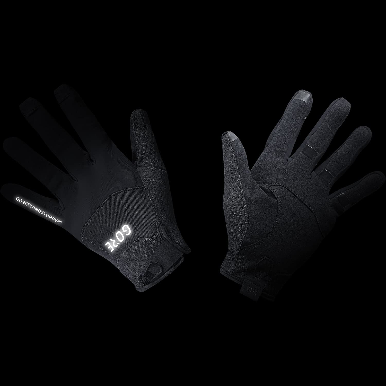 609d834f98bb08 GORE Wear Winddichte Fahrrad-Handschuhe, C5 GORE WINDSTOPPER Gloves,  100125: Amazon.de: Bekleidung