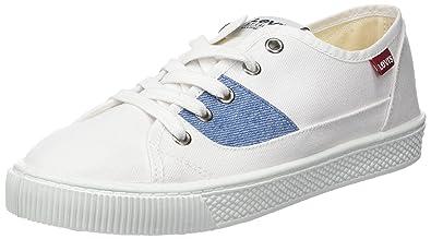 30d7a770ed35b Levi s Levis Footwear and Accessories Malibu S, Baskets Femmes, Blanc (B  White 50