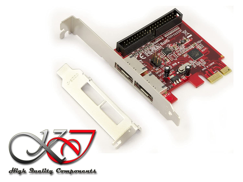 PCIe eSATA + IDE controller Card - Raid 0, 1 - Marvell