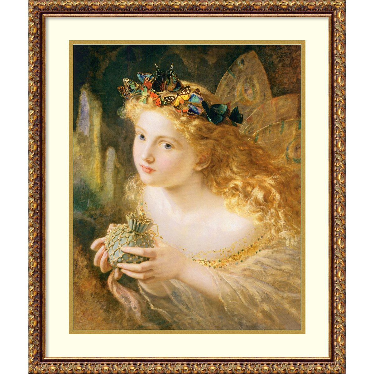 Fairy Framed壁アート – 21.85 W x 25.85h in。 22