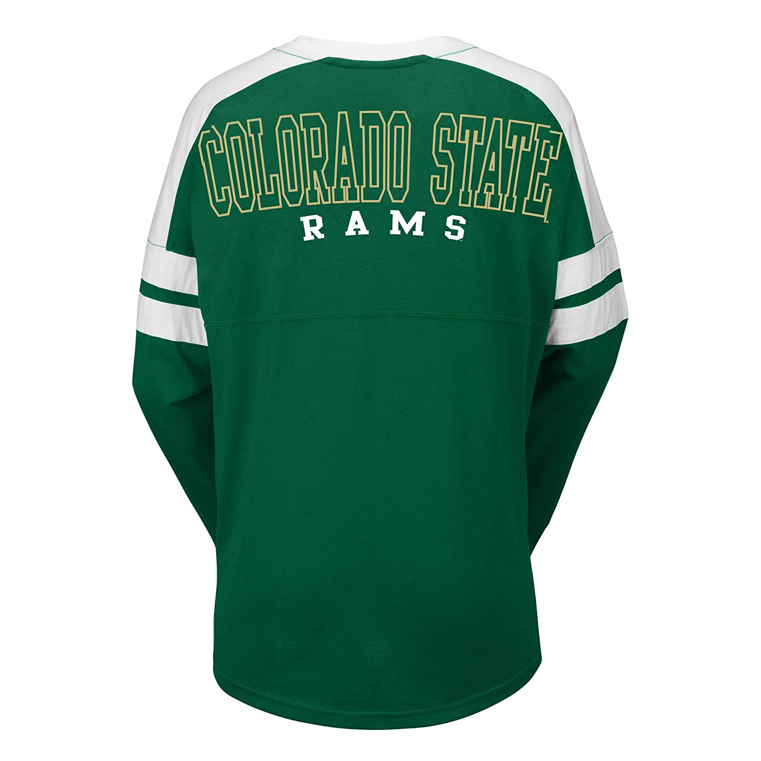 XX-Large Green//White J America NCAA Colorado State Rams Womens Gotta Have It Cheer Tee