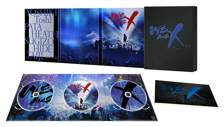 WE ARE X Blu-ray スペシャルエディション(Blu-ray3枚組) B073S79SGR