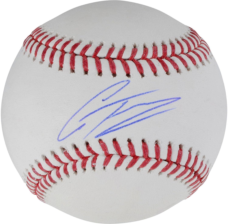 Gleyber Torres York Yankees Autographed Baseball - Fanatics Authentic Certified - Autographed Baseballs