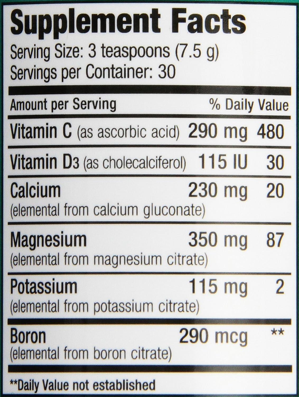 Amazon.com: Natural Calm Plus Calcium - powder- Natural Vitality ...