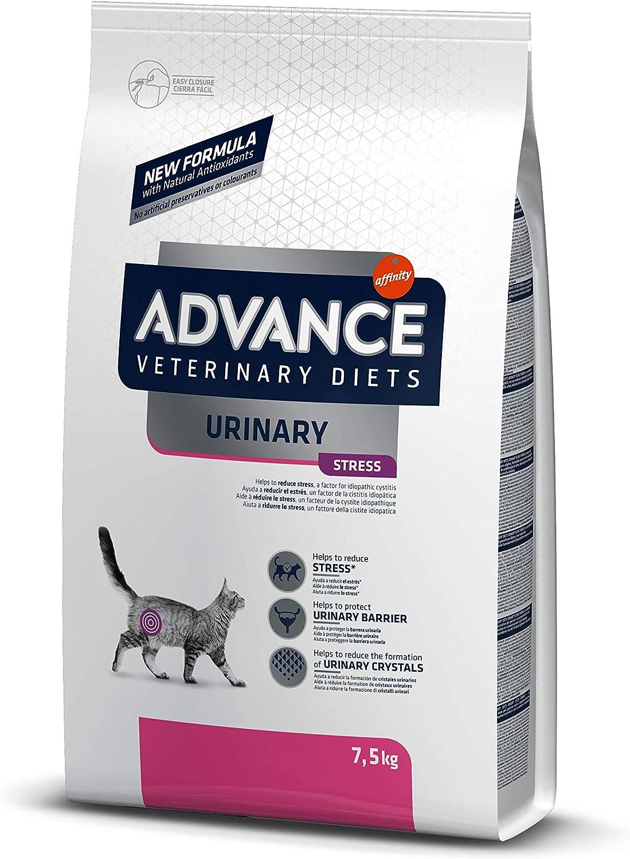 Advance Veterinary Diets Urinary Stress para Gatos con Problemas Urinarios - 7,5kg