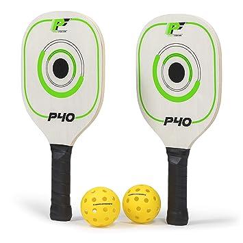 Amazon.com: Pro Focus P40 Doubles - Juego de palas de ...
