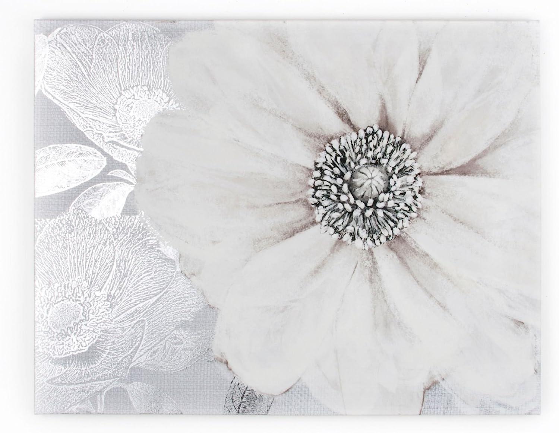 Amazon Com Graham Brown Harrogate Grey Bloom Wall Art 23 By 31 Inch 41 712 Posters Prints