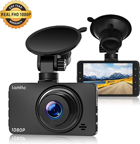 Dash Cam FHD 1080P In Car Camera Dashcam for Cars,170/° Wide Angle 3 Inch LCD Screen WDR Loop Recording G-Sensor Motion Detection Parking Monitor