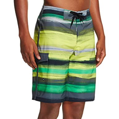 8c1ea083a9199 Mossimo Supply Co Men's Boardshorts Lime Tone (32) | Amazon.com