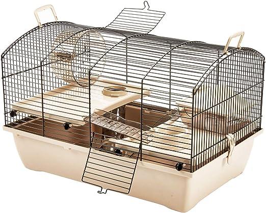 Pet Ting Dixon Jaula de hámster con Accesorios Escalera Rueda Tubo Gerbil Ratón: Amazon.es: Productos para mascotas