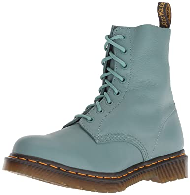 4c3bf45558be1b Amazon.com | Dr. Martens Women's 1460 Pascal Mid Calf Boot Pale Teal 5 M UK  (7 US) | Mid-Calf