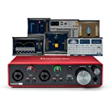Focusrite Scarlett 2i2 (3rd Gen) USB Audio Interface plus Waves Musicians 2 and iZotope Mobius Filter Bundle