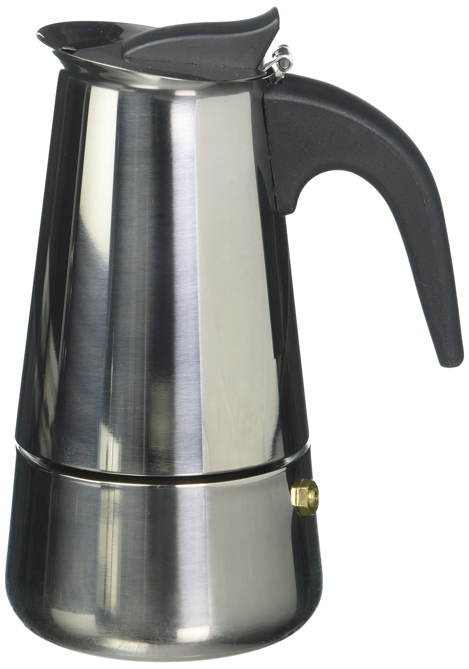 4 Cup Stainless Steel Stovetop Espresso Maker