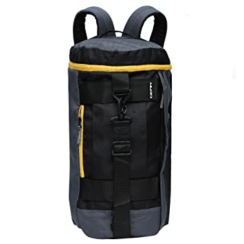 Gear Polyester 45 cms Grey and Yellow Travel Duffle (Metro New MAXIS  DUFFELL Cum Backpack) (METDFNMXS0412)  Amazon.in  Bags 0ee2d225455a6