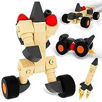 ColorGo Wooden Educational Toys Cars Building Blocks Deals
