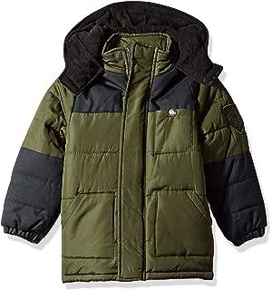 fd5712ba8 Amazon.com  iXtreme Boys  Pop Colored-Zipper Puffer Coat  Clothing