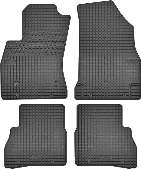 Motohobby Gummimatten Gummi Fußmatten Satz Für Opel Combo D 2011 2018 Fiat Doblo Ii Ab 2010 Passgenau Auto