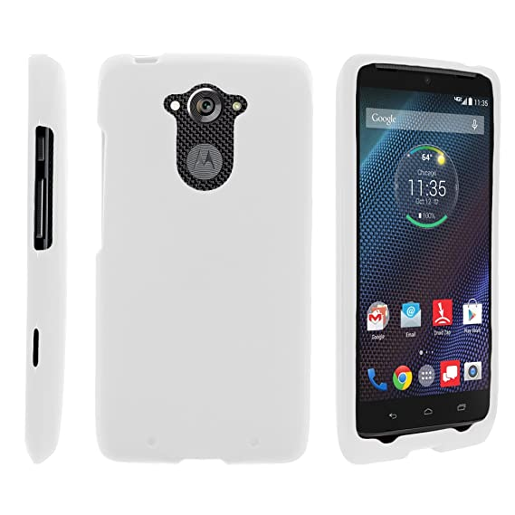 MINITURTLE Case Compatible w/Motorola Droid Turbo Case, Solid Color Hard Snap On Cover