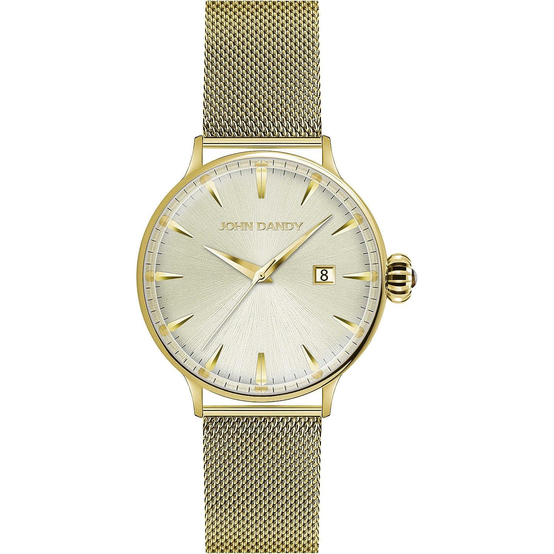 Uhr nur Zeit Damen John Dandy Casual Cod. jd-2609l-15 M
